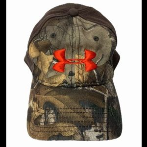 Under Armour Camo Hunting Fishing Outdoor Hat